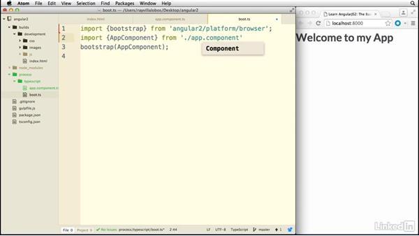 Using multiple modules: Learn AngularJS 2: The Basics