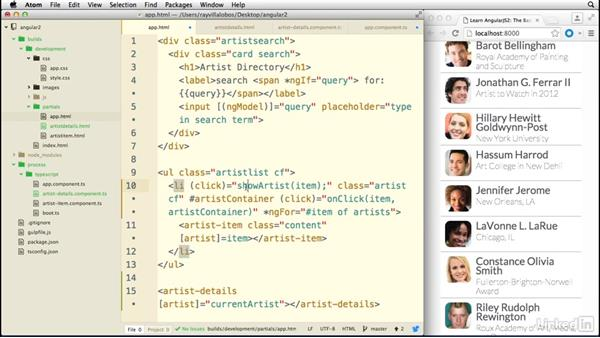 Using multiple subcomponents: Learn AngularJS 2: The Basics
