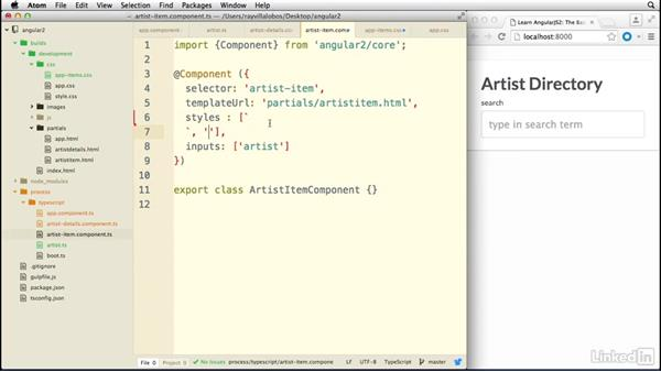Cleaning up components: Learn AngularJS 2: The Basics