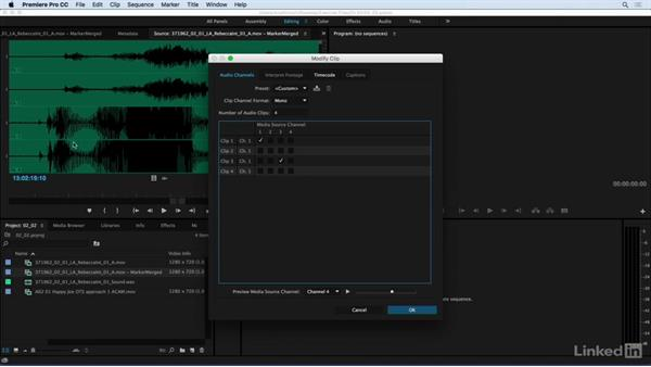 Working with audio tracks in the video edit: Audio for Video: Production and Post Sound Techniques
