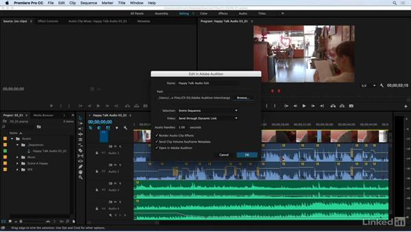 Workflow from Premiere to Audition: Audio for Video: Production and Post Sound Techniques