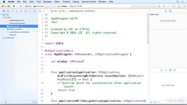 Introduction to Xcode 7: iOS 9 App Development with Swift 2 Essential Training