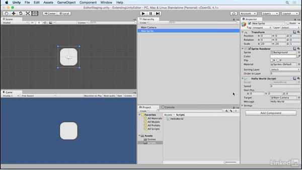 Work with variables: Building Custom Tools to Extend the Unity IDE