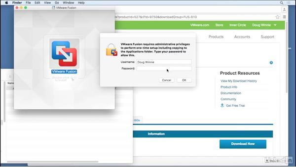 Install Fusion 8: Learn VMware Fusion 8: The Basics