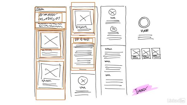 ✓ Solution: Create a container map and modularize the design: Responsive Web Design in the Browser
