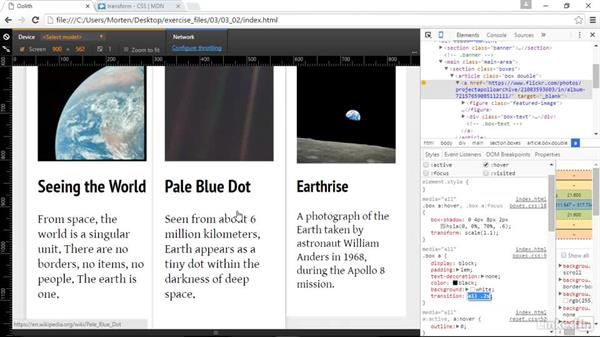 CSS transforms: Responsive Web Design in the Browser
