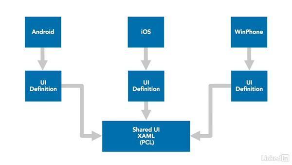 How xamarin forms provide real cross platform development for Xamarin architecture