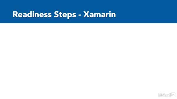 Get ready for iOS development: Xamarin Essential Training