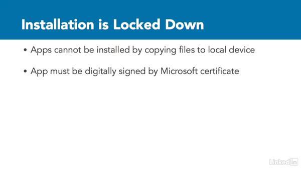 Developer unlock and the Windows Store: Xamarin Essential Training