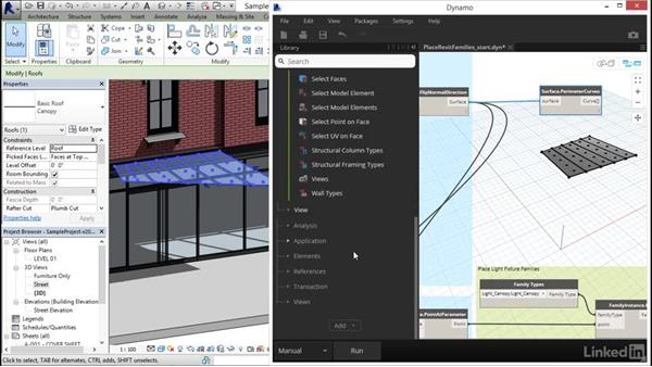 Placing Revit families with Dynamo: Dynamo Essential Training