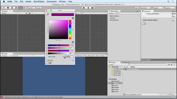 Create Color Palette