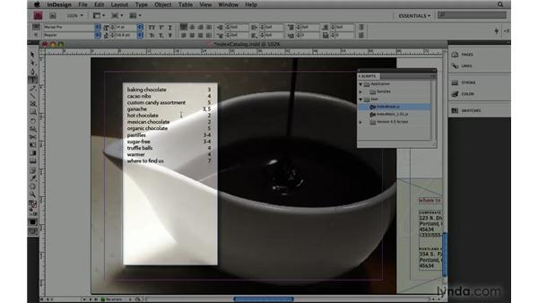 9. IndexMatic: InDesign CS4: 10 Free Must-Have Scripts