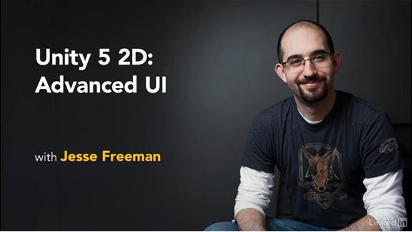 Next steps: Unity 5 2D: Advanced UI