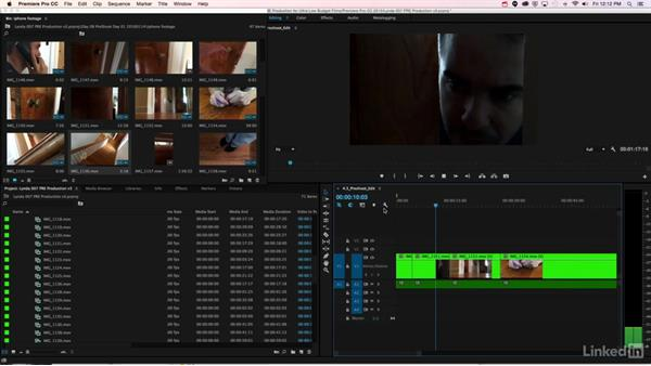 Editing the pre-shoot: Video Pre-production for Low-Budget Films