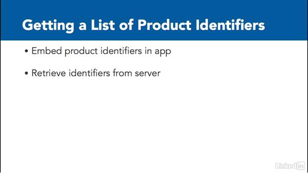 Overview: Retrieving product information: Implementing In-App Purchases in iOS with Swift