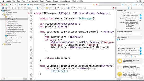 Retrieving products In your app: Implementing In-App Purchases in iOS with Swift