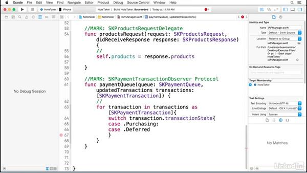 Delivering products in your app: Part 1: Implementing In-App Purchases in iOS with Swift