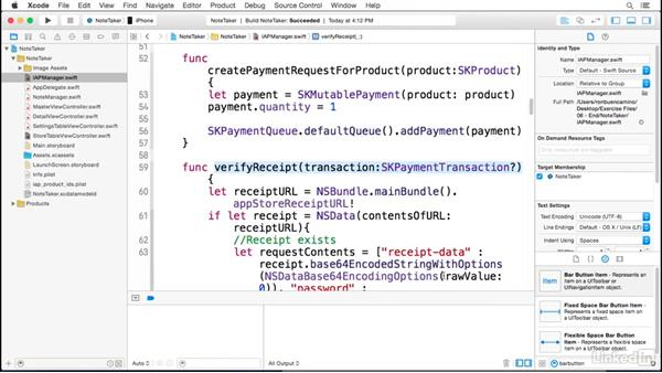 Restoring completed transactions in your app: Implementing In-App Purchases in iOS with Swift