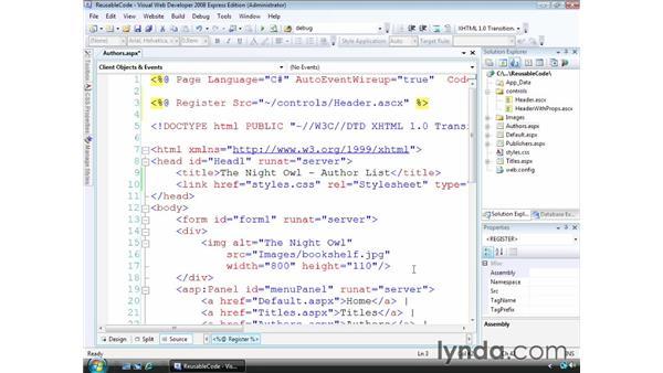 : ASP.NET Essential Training