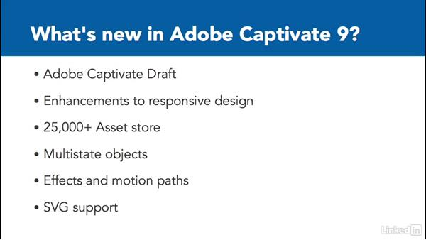 What's new in Adobe Captivate 9: Captivate 9 Essential Training