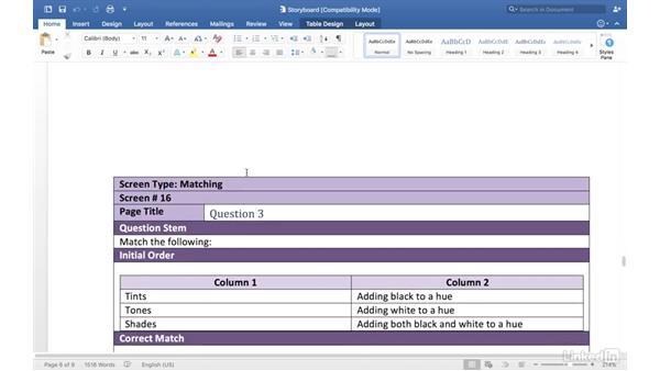 Adding assessment questions: Captivate 9 Essential Training