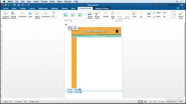 Create An Editable Word Letterhead Based On InDesign Design