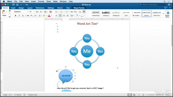Extract Word art graphics to use in Adobe apps: Managing Conversions Between Adobe CC and Microsoft Office