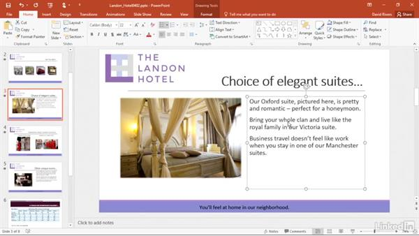 Select Ribbon commands with KeyTips: PowerPoint 2016 Power Shortcuts