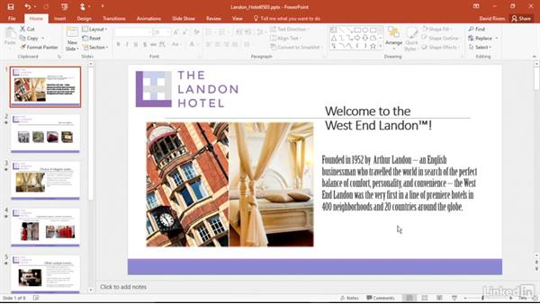 Clear text formatting: PowerPoint 2016 Power Shortcuts