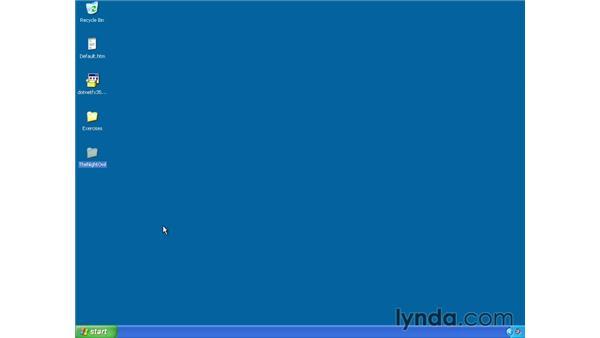 Deploying a site on Windows XP: ASP.NET Essential Training