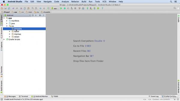 Estructura De Un Proyecto De Android Studio 2