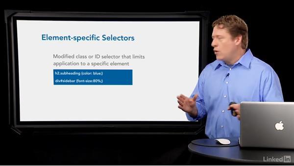 Basic selector types: CSS Fundamentals