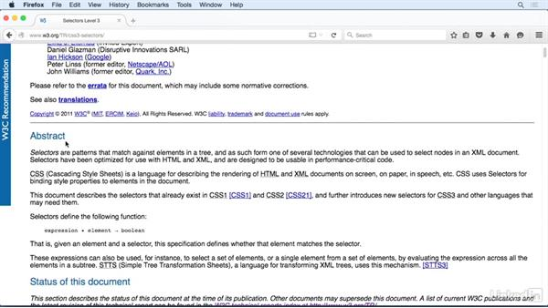 Exploring CSS specifications: CSS Fundamentals