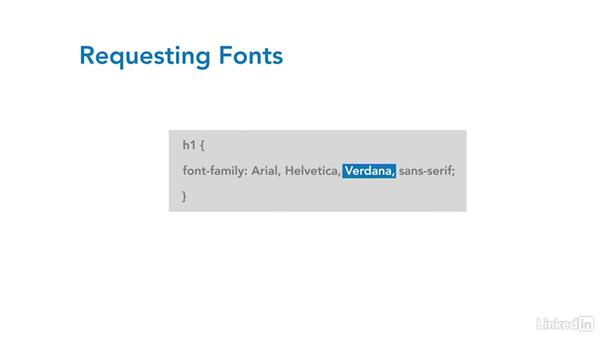 Working with fonts: CSS Fundamentals