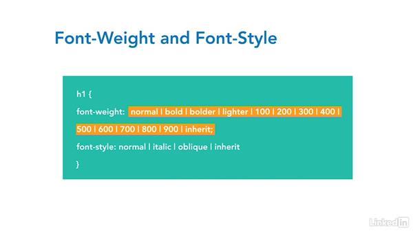 Formatting text: CSS Fundamentals