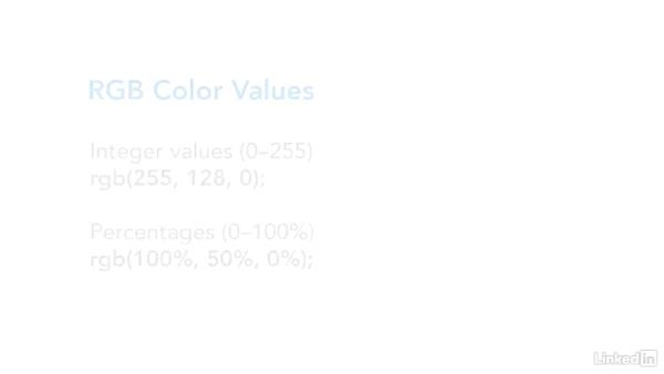 Working with color: CSS Fundamentals
