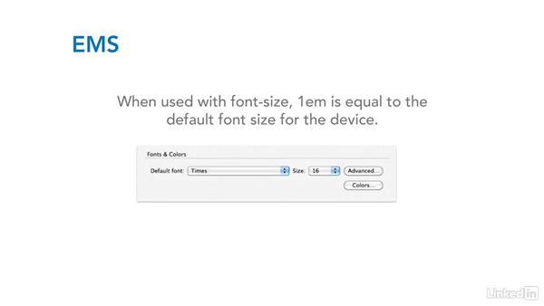 Common units of measurement: CSS Fundamentals