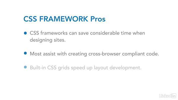 Using CSS frameworks & grids: CSS Fundamentals