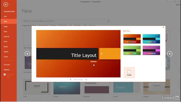 Create blank or template-based presentations: PowerPoint 2013: Prepare for the Microsoft Office Specialist Certification Exam (77-422)