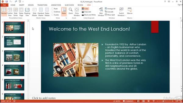 Customize presentation options and views: PowerPoint 2013: Prepare for the Microsoft Office Specialist Certification Exam (77-422)