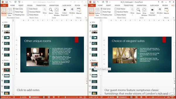 View multiple presentations and reuse slides: PowerPoint 2013: Prepare for the Microsoft Office Specialist Certification Exam (77-422)