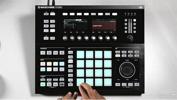 Creating drum pattern variations: Using KOMPLETE Sounds in MASCHINE