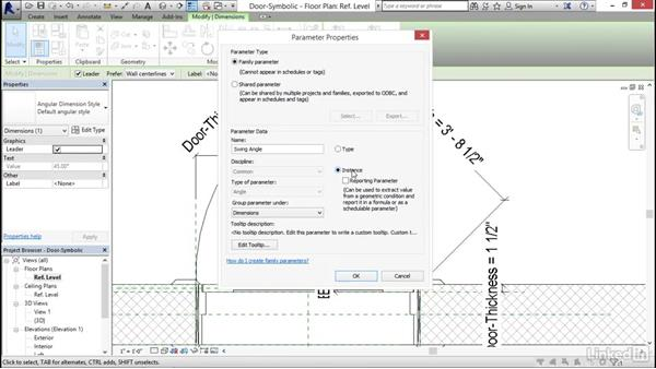 Creating symbolic lines: Architectural Families in Revit
