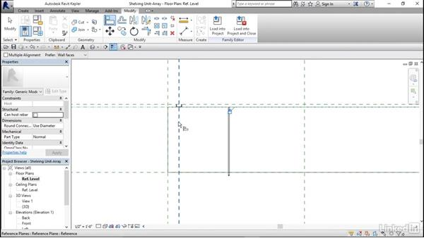 Linking family parameters: Architectural Families in Revit