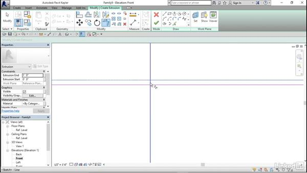 Modeling countertop brackets: Architectural Families in Revit