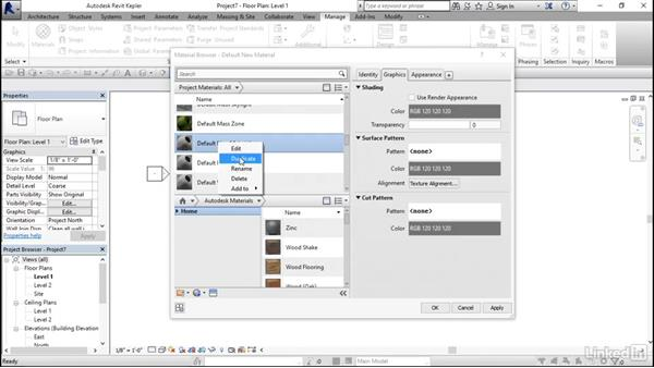 Setting global parameters: Architectural Families in Revit