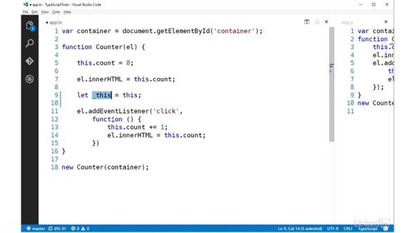 Lambdas: TypeScript Essential Training