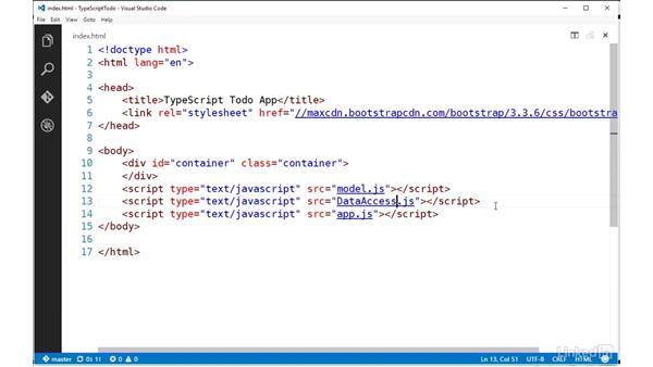 Loading external modules: TypeScript Essential Training