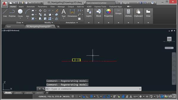 Using the ViewCube: AutoCAD 2017 Essential Training