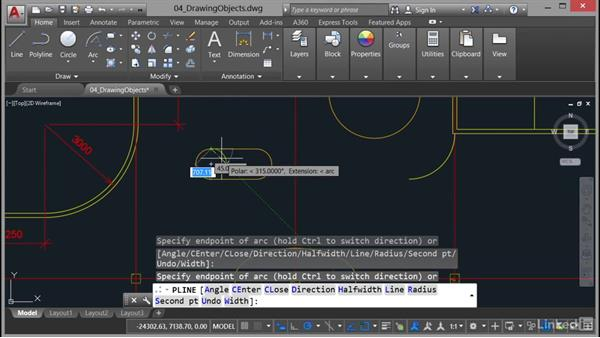 Polylines and splines: AutoCAD 2017 Essential Training